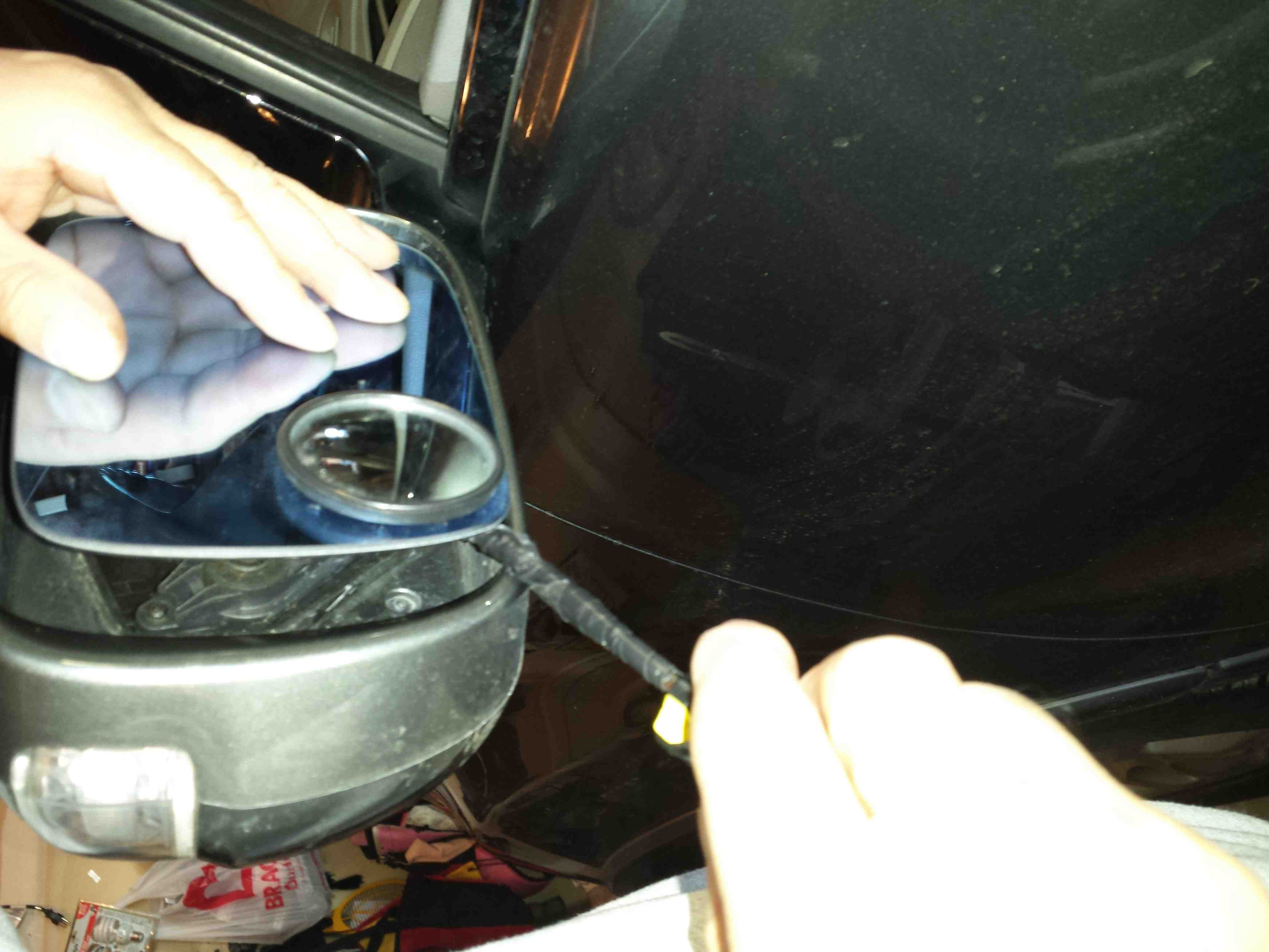 Side Mirror Actuator Removal Acura MDX Forum Acura MDX SUV Forums - Acura mdx side mirror replacement