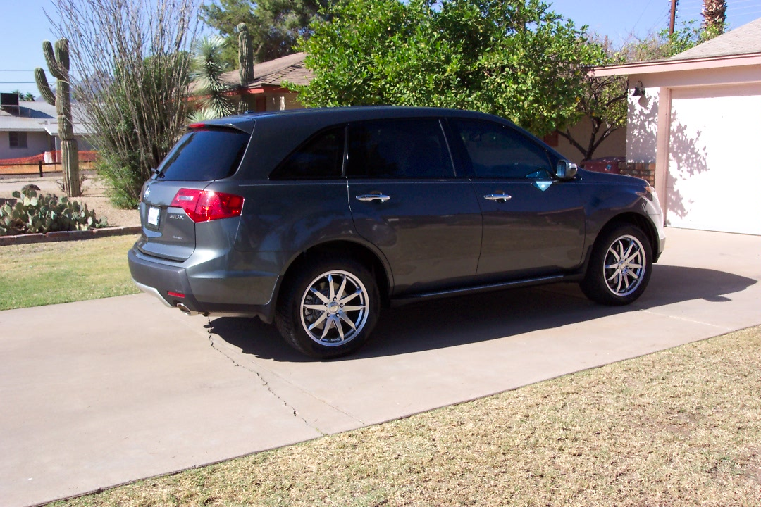 New Tires And Wheels Installed Acura MDX Forum Acura MDX SUV - Acura integra tire size