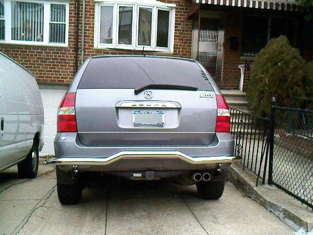 Bumper Guard For Suv >> Rear Bumper Guard Acura Mdx Suv Forums