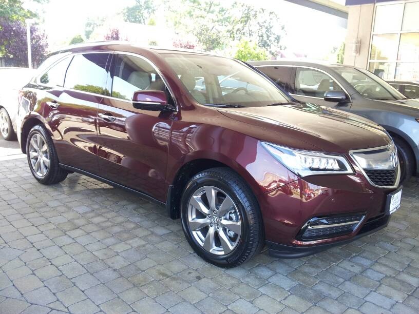 2014 acura mdx which color you like best page 2 acura mdx