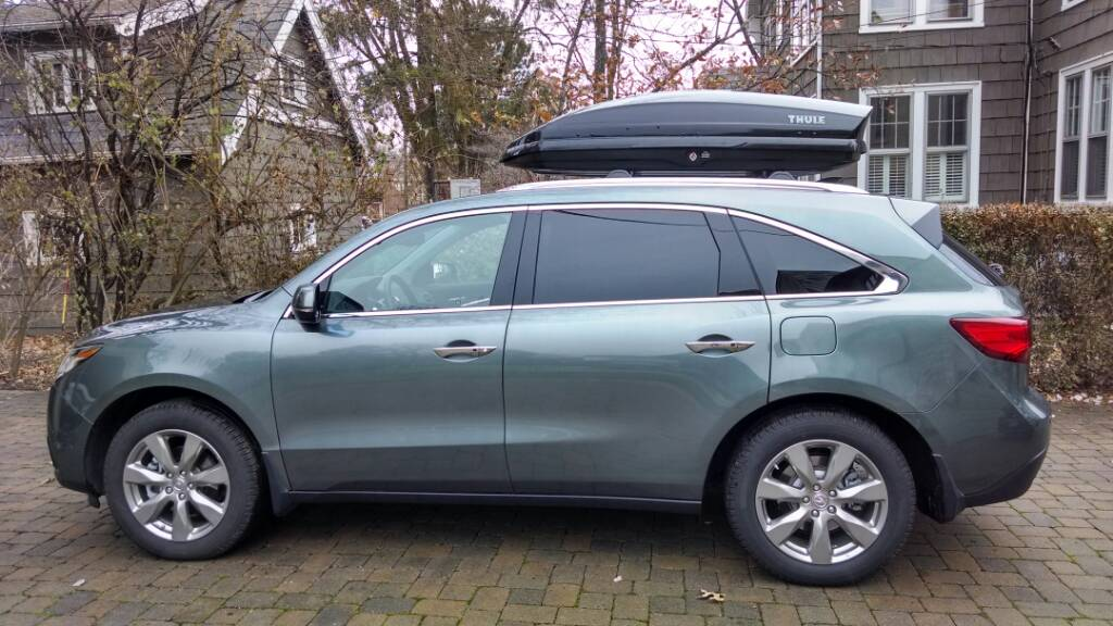Factory Roof Rack Concerns Page Acura MDX Forum Acura MDX - Acura mdxers