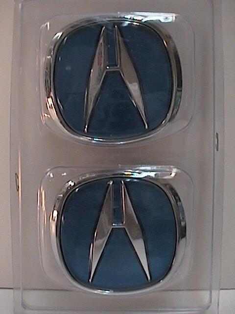 Blue Acura A Emblems Acura MDX Forum Acura MDX SUV Forums - Red acura emblem