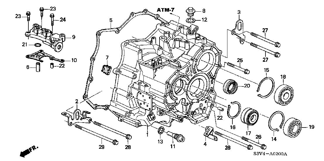 2002 acura mdx transmission diagram easy to read wiring diagrams