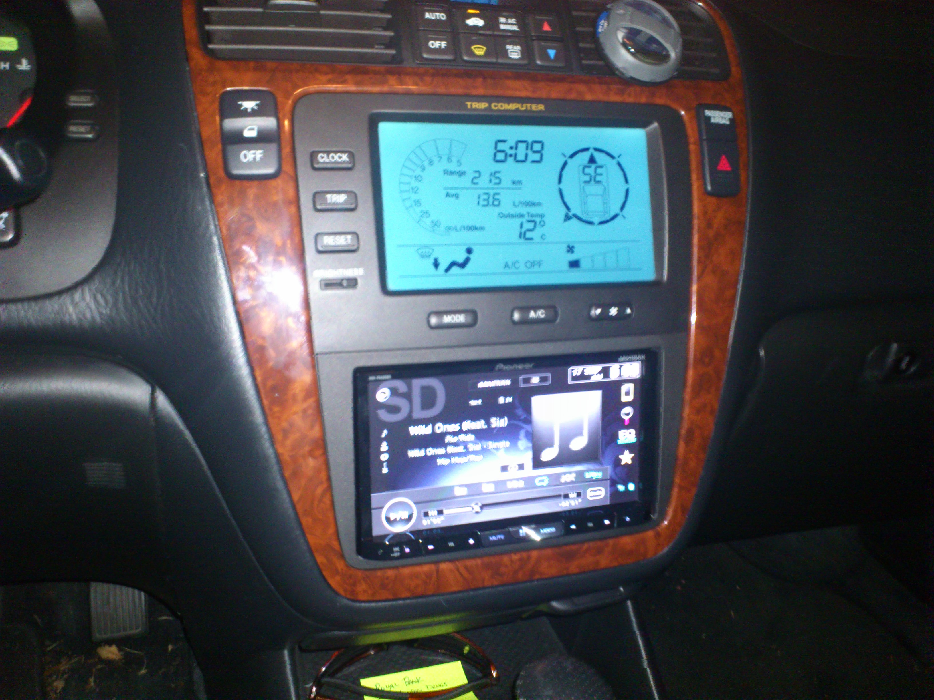Replacing Radio Stereo Deck Mdx Acura Forum Click Image - 2004 acura tl dashboard replacement