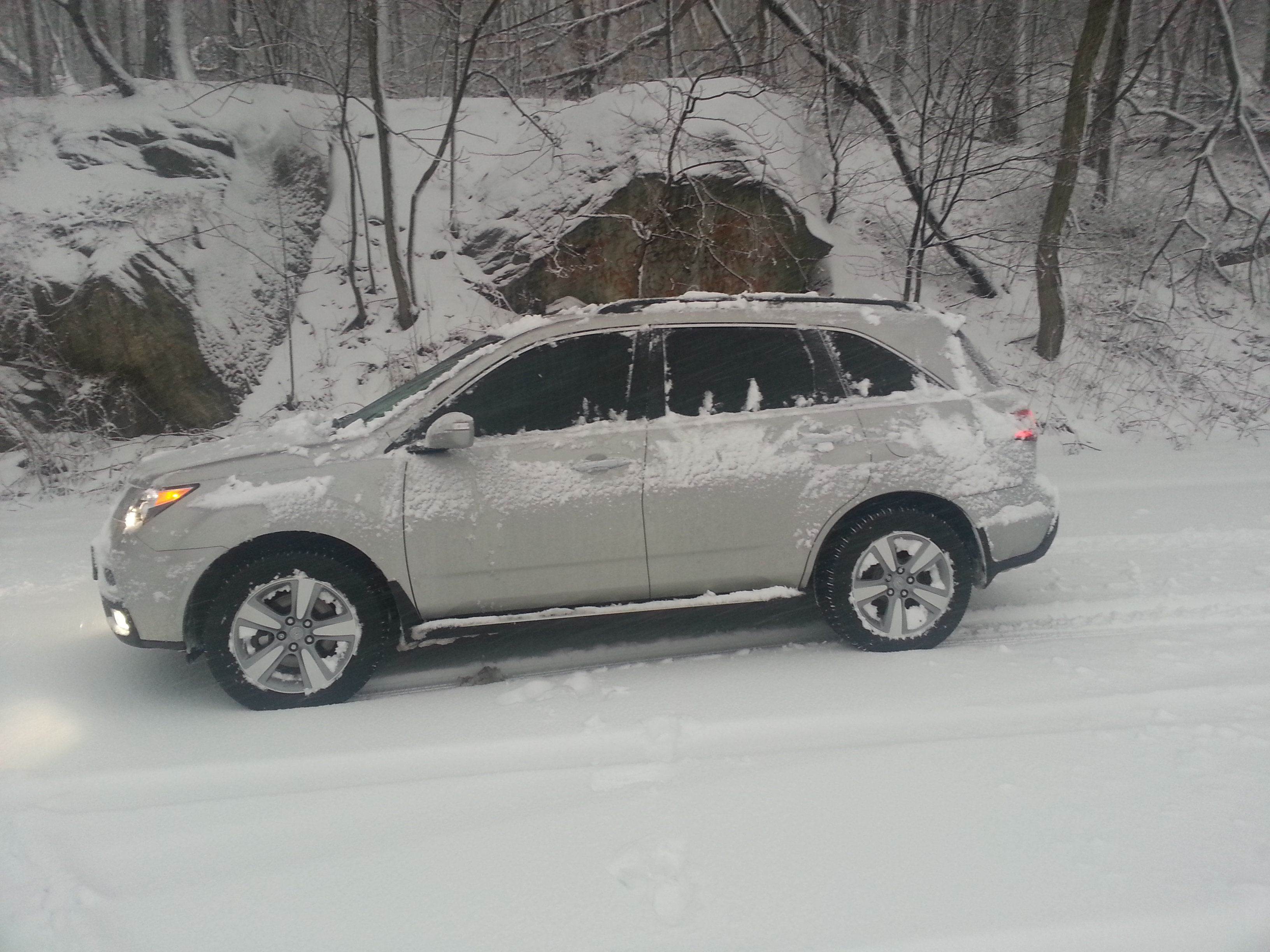 The new england storm of 2013.. how did your mdx do?-20130208_165634.jpg