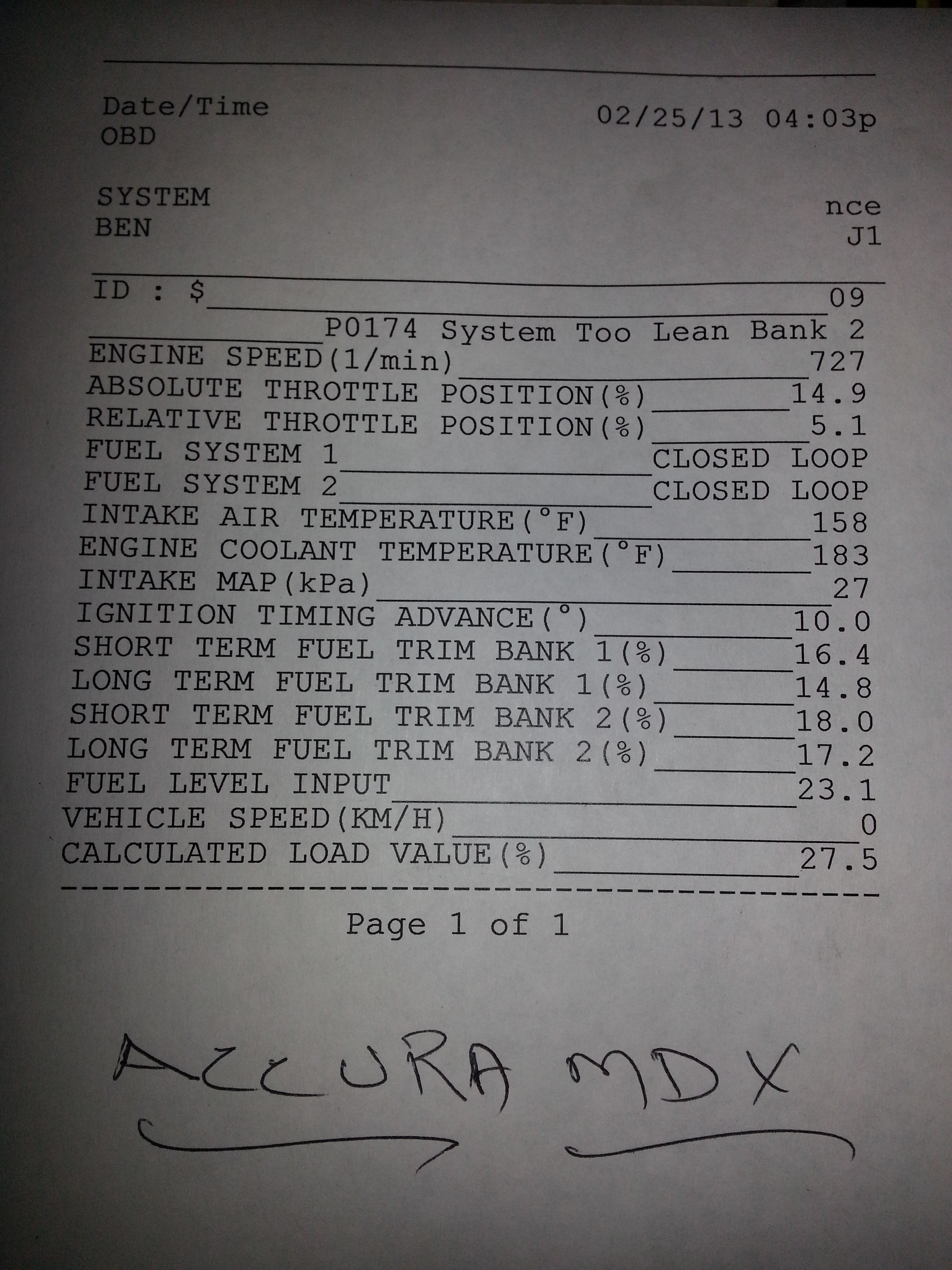 04 acura mdx loud squeal and printout-20130225_175946.jpg