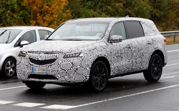 2018 acura rdx spy photos. Brilliant Acura Click Image For Larger Version Name 2014AcuraMDXprototypefront And 2018 Acura Rdx Spy Photos