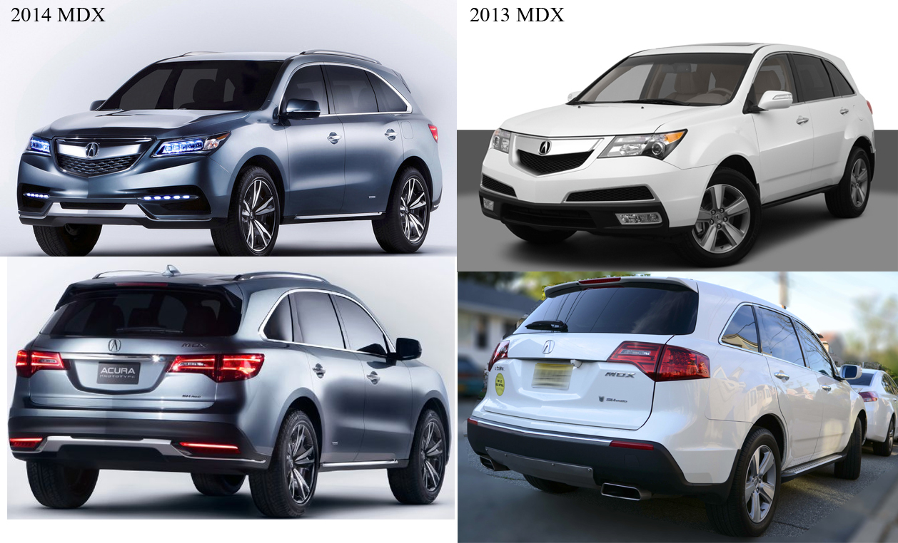Acura To Show 2014 Mdx Prototype Jan 14 Page 4 Acura Mdx Suv Forums