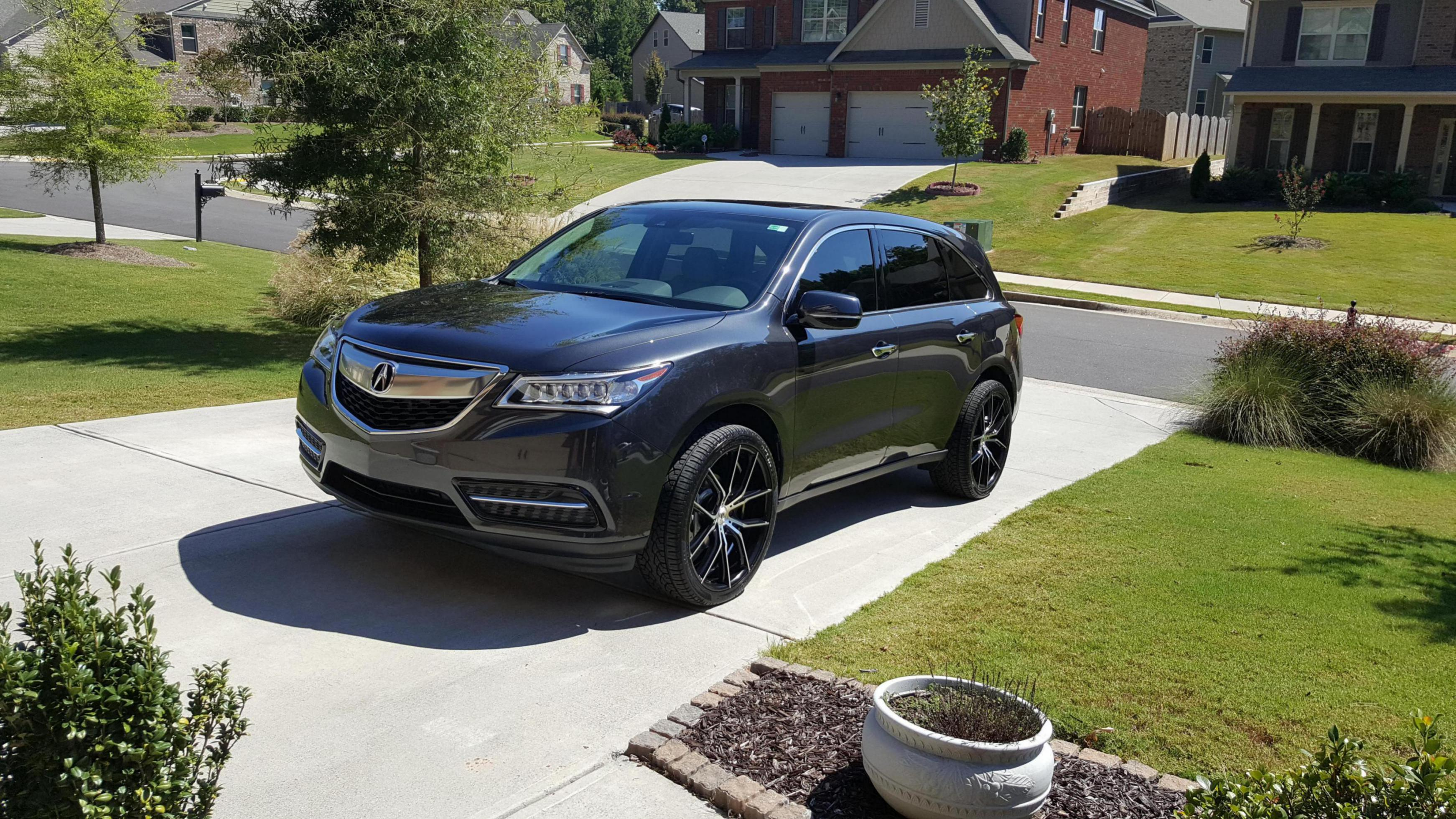 2016 Mdx With 22 Rims Acura Mdx Suv Forums