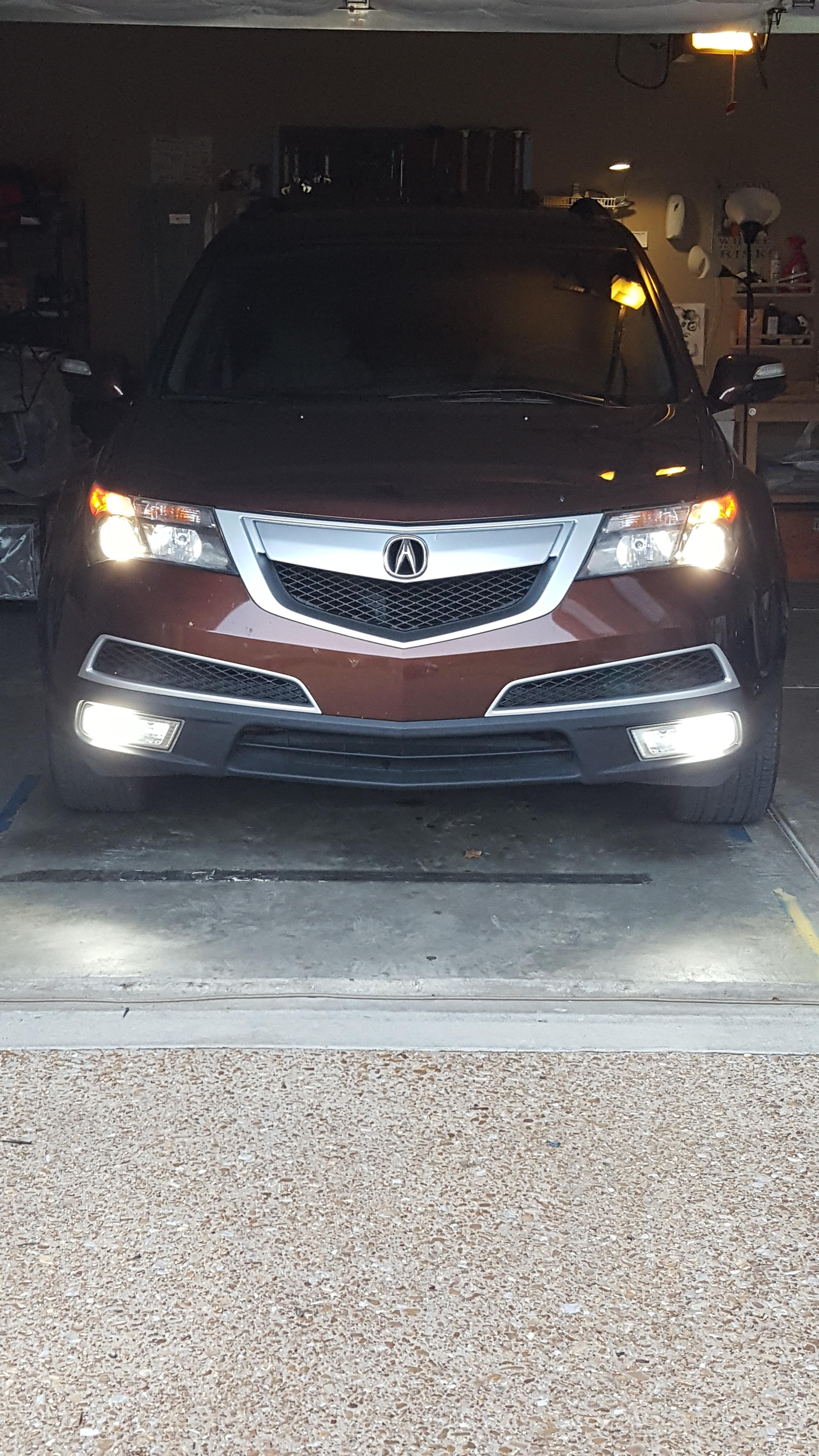 foglight xenon adjustment headlight acura tag and oem headlights right for tl diy hid