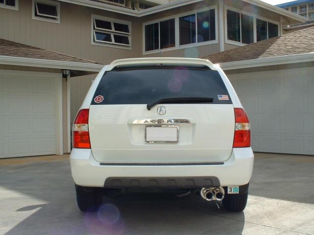 license plate frames? - Acura MDX Forum : Acura MDX SUV Forums