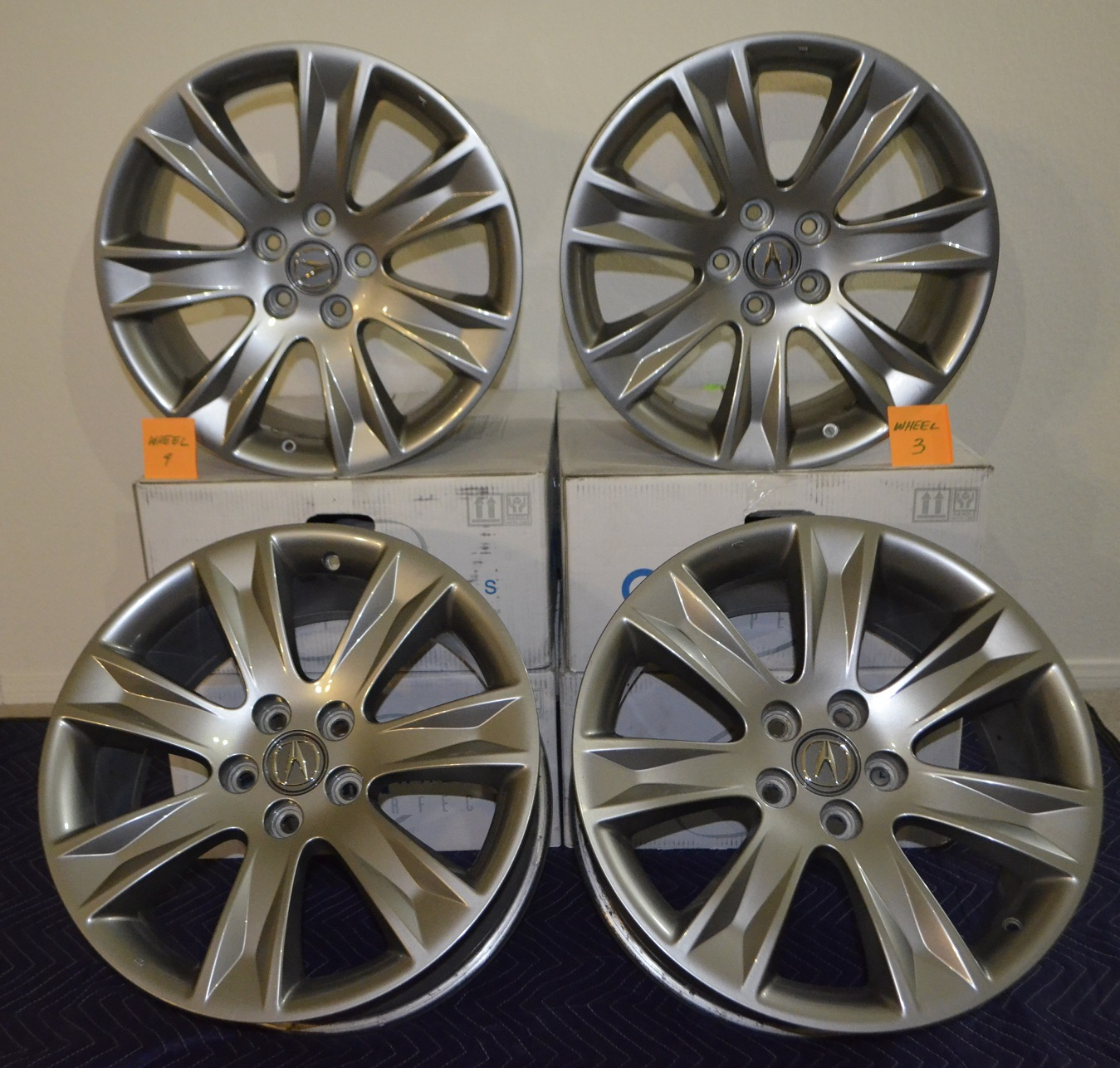 OEM MDX Advance 19x8.5 Wheels Set Of 4