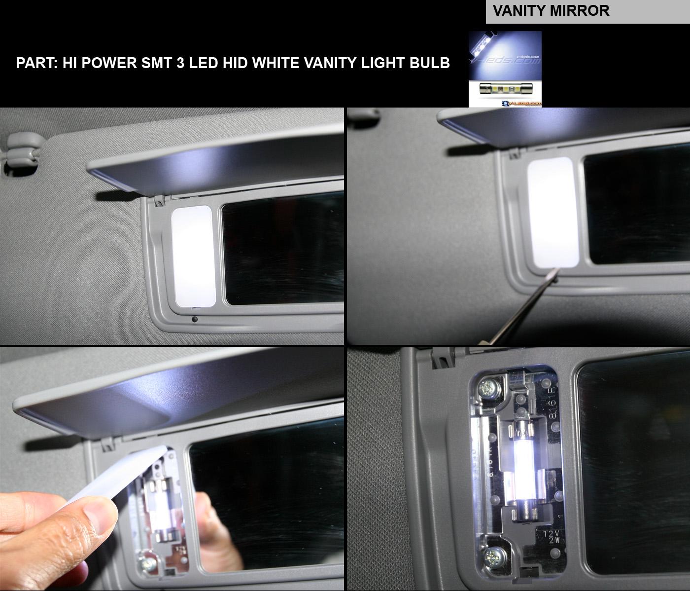 Diy 2nd Gen Interior Led Smt Mod Acura Mdx Forum Suv 07 Toyota Highlander Fog Light Nation Car Click Image For Larger Version Name Vanity Views 9882 Size 3892