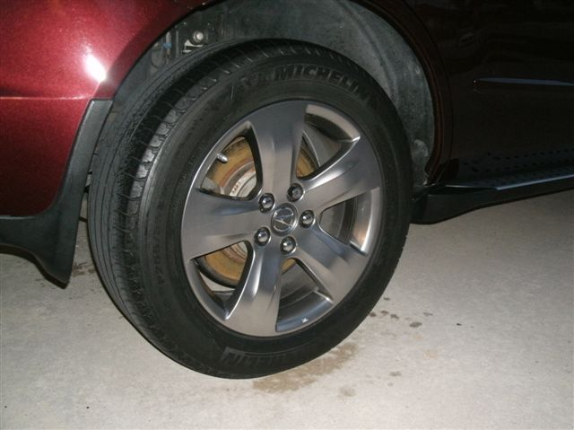 fs 2007 sport rims tires acura mdx forum acura mdx suv forums. Black Bedroom Furniture Sets. Home Design Ideas