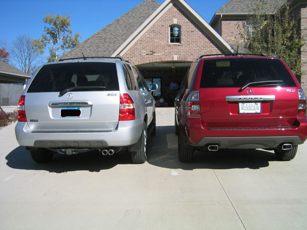 My New Acura MDX With Pics Comparing To The Acura MDX - Acura mdx package comparison