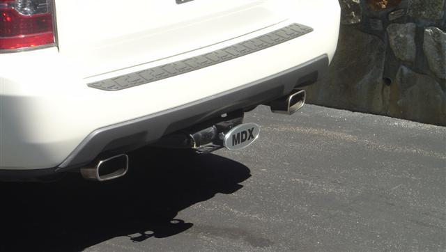 MDX Trailer Hitch Cover Replacement Options Acura MDX Forum - Acura tow hitch