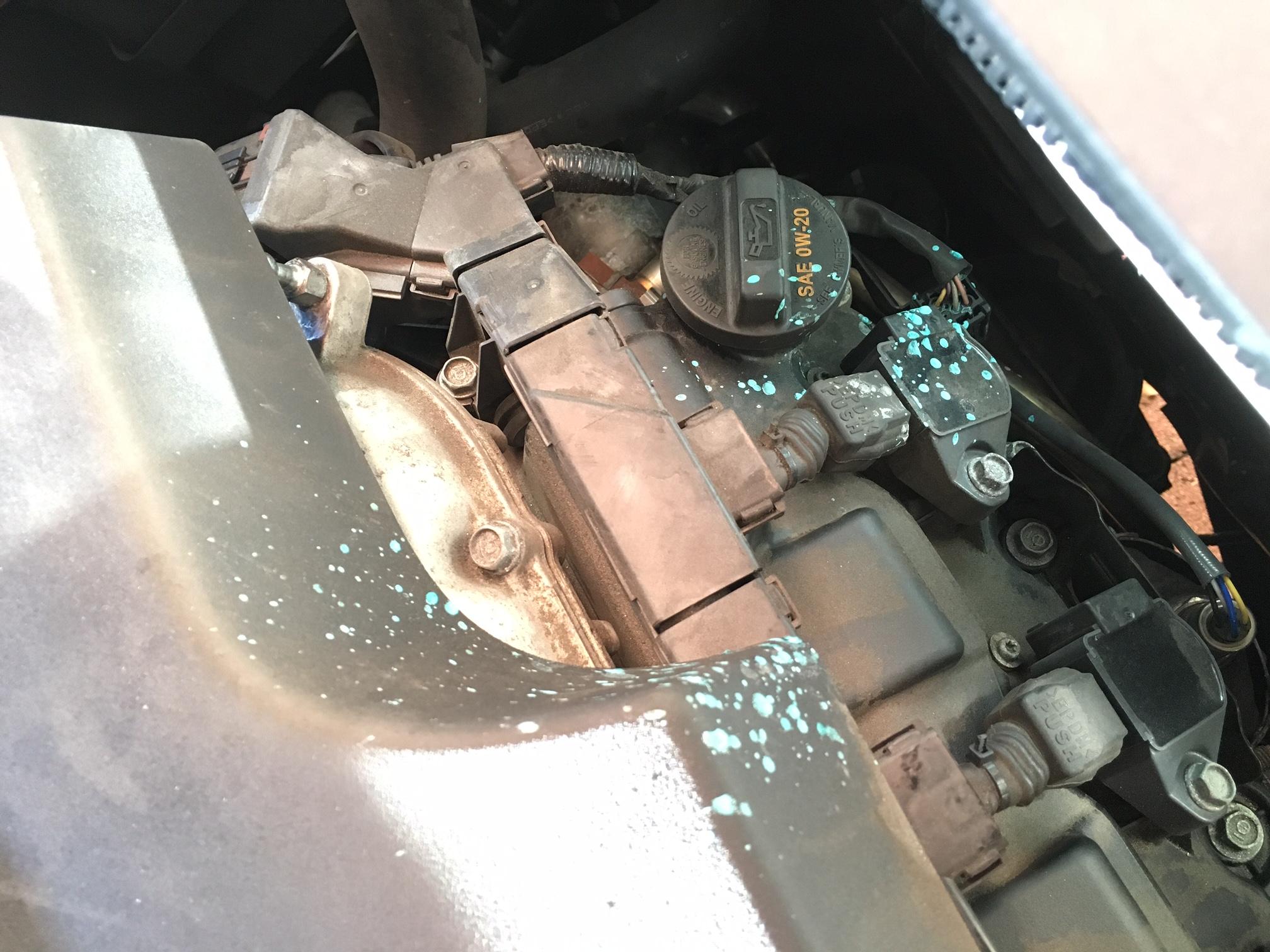 2015 MDX SH-AWD - Antifreeze / Coolant Leak - Here we go again .