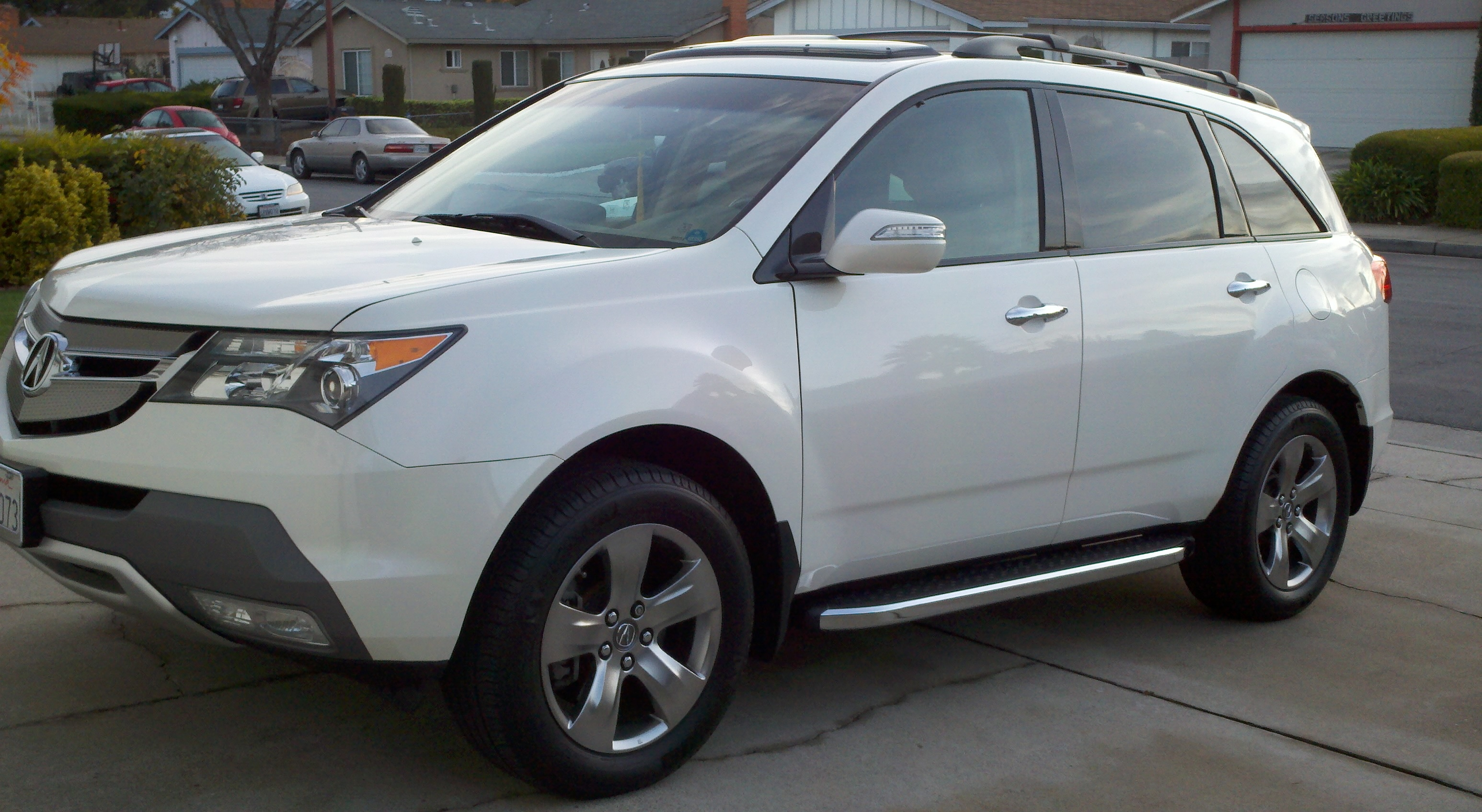Anyone Put Sport Running Boards On Any Pics Acura - Acura mdx running boards