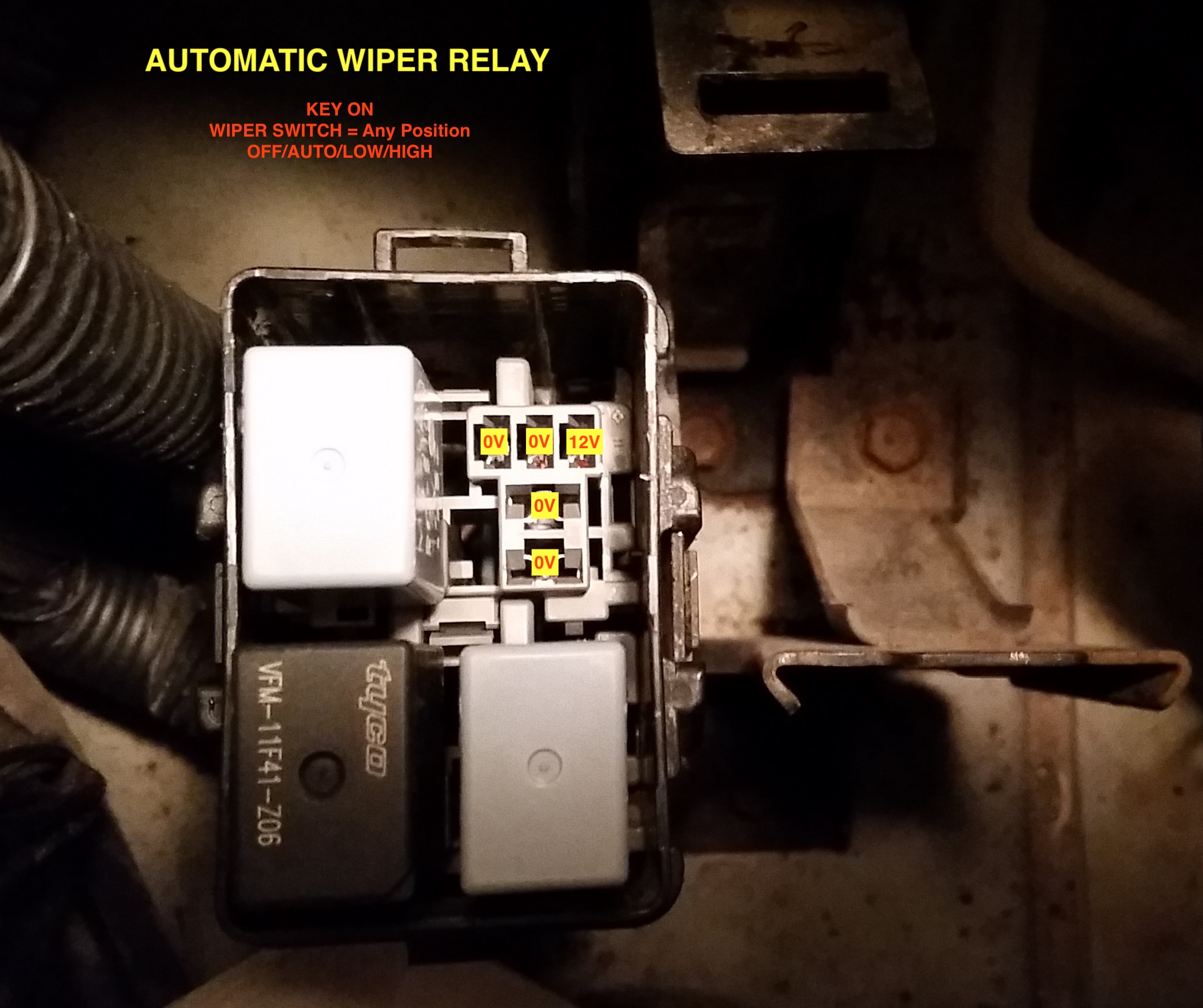2004 Auto Wipers Only Work On High And Wont Park Acura Mdx Automatic Rain Sensing Windshield Wiper Control Circuit Diagram Click Image For Larger Version Name Relay Views 65 Size