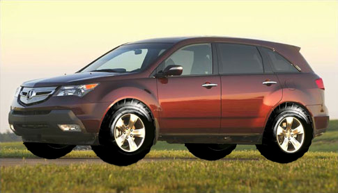 Biggest Tires That Will Fit Acura MDX Forum Acura MDX SUV Forums - Acura mdx tires