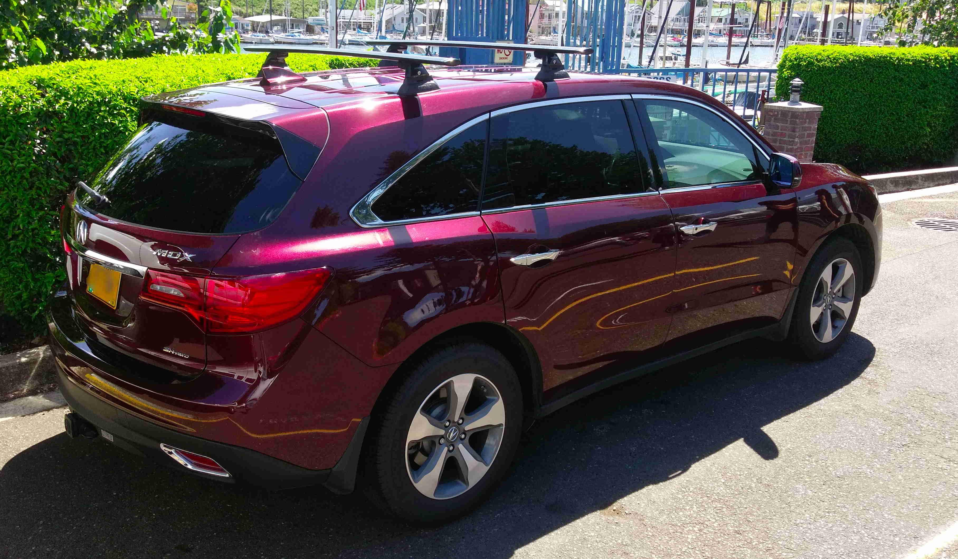 Roof Racks A Better Option Imho Acura Mdx Suv Forums
