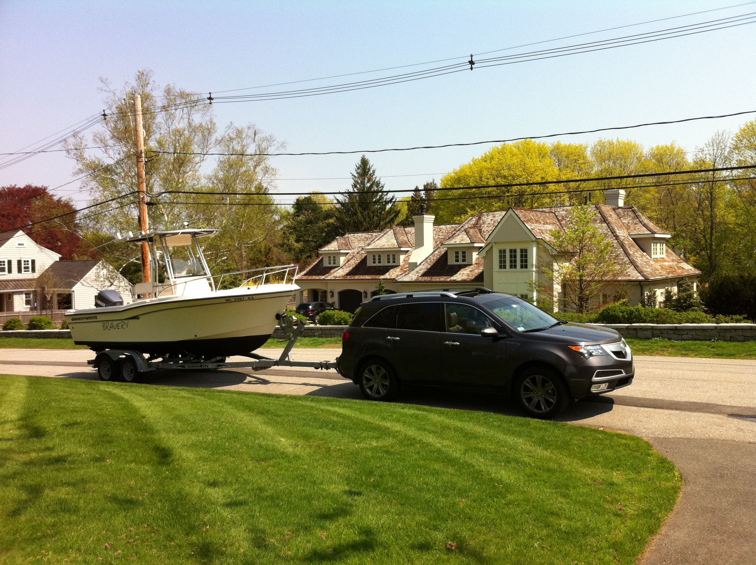 D Mdx Towing Boat