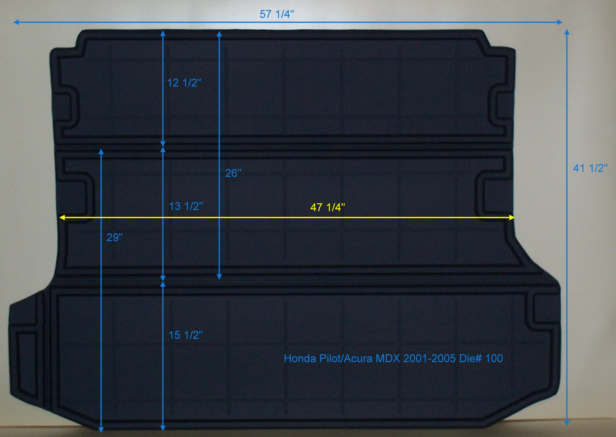 Cargo liner that enables use of 3rd row - Acura MDX Forum : Acura MDX SUV Forums