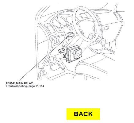 2005 Acura Mdx Relay Diagram
