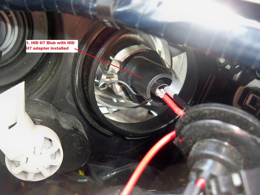 Diy Drivers Side Xenon Low Beam Bulb Acura Mdx Forum