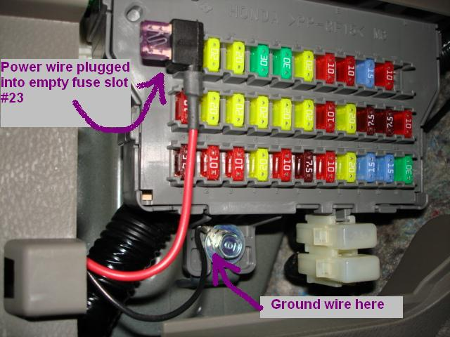 2007 Acura Mdx Fuse Box Diagram - Wiring Diagram Schemas