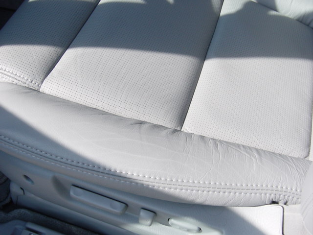 How To Prevent Cracks In Leather Seat Acura MDX Forum Acura MDX - Acura tl leather seats