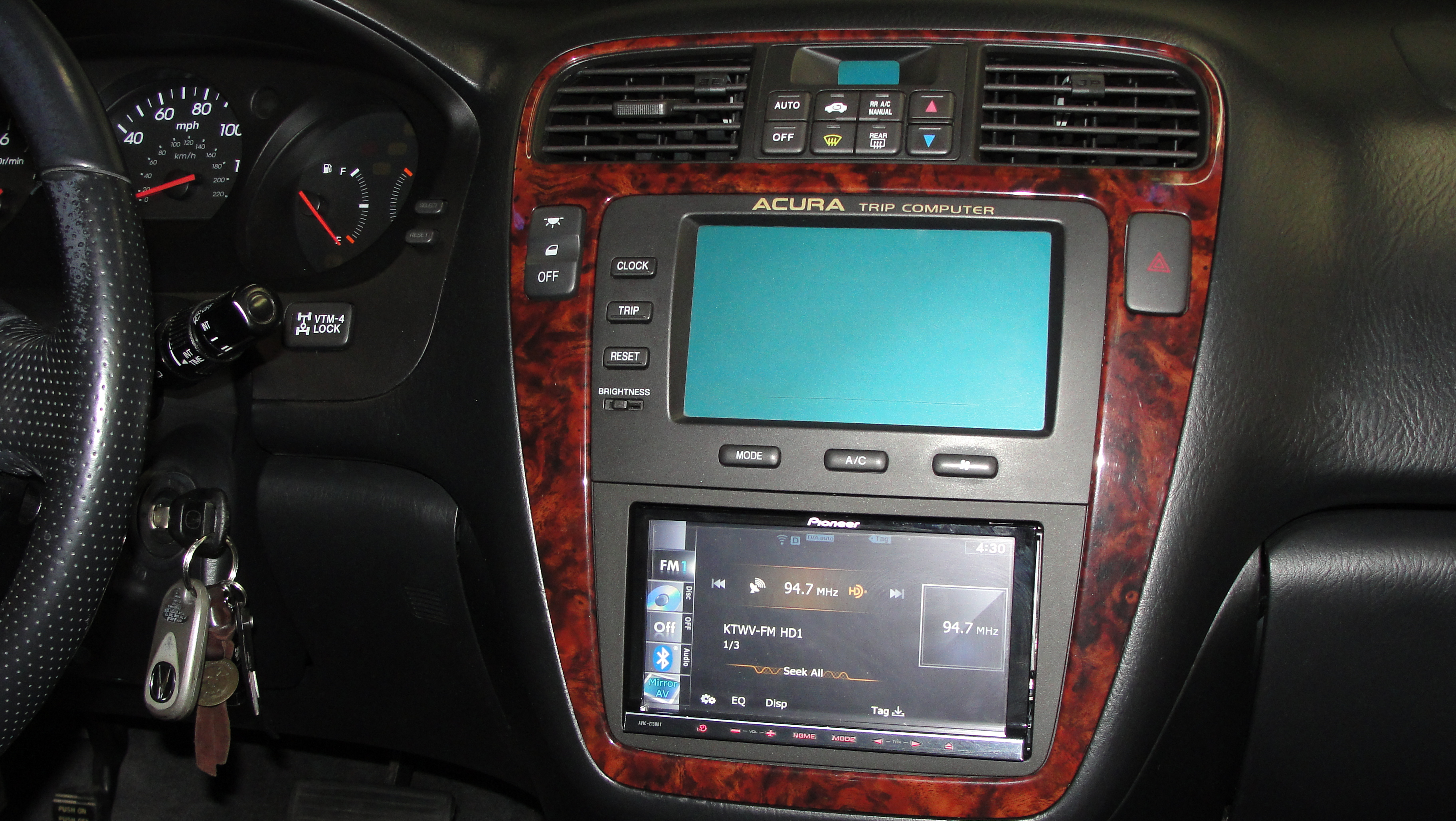 Aftermarket Stereo Installed On MDX Acura MDX Forum Acura MDX - Acura tsx aftermarket parts