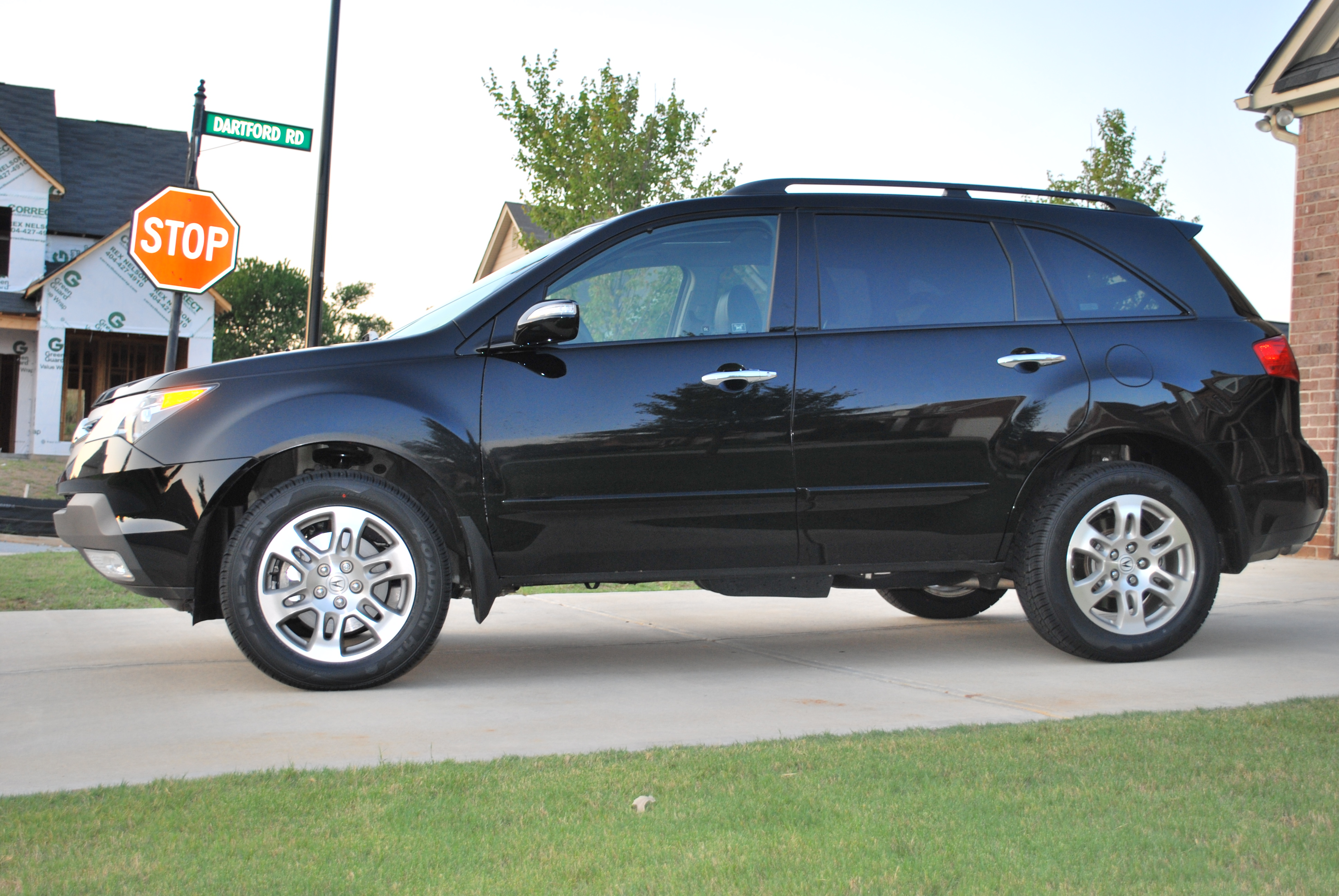 new from the atl 09 black mdx tech ent acura mdx forum acura