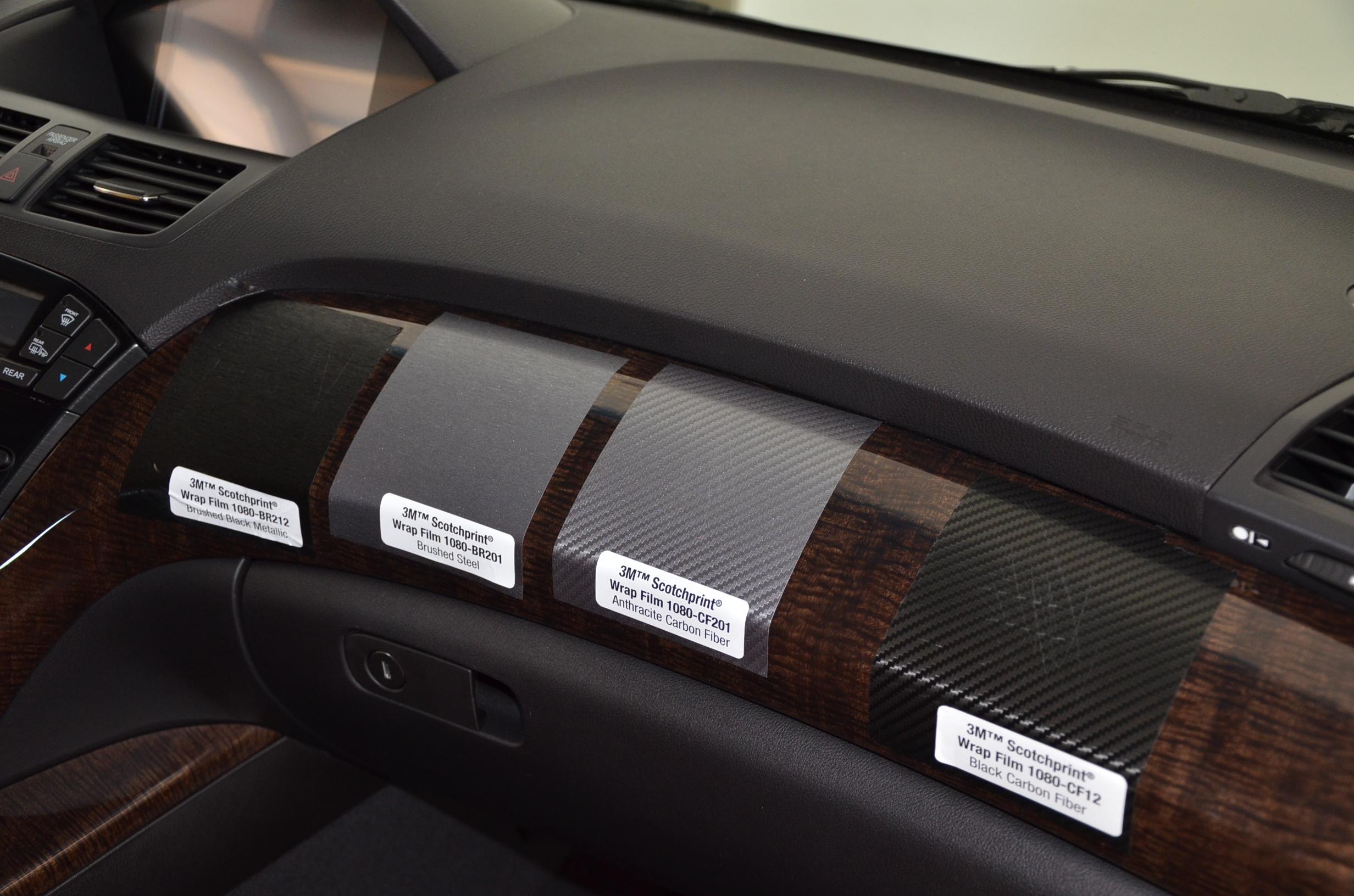 Acura Mdx Interior >> Received 3M Wrap Film 1080 samples - Acura MDX Forum : Acura MDX SUV Forums
