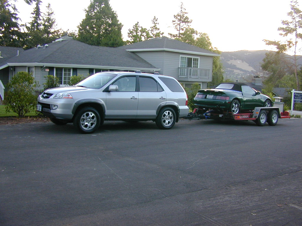 Towing A Boat A Couple Of Questions Acura MDX Forum Acura - Acura mdx tow capacity