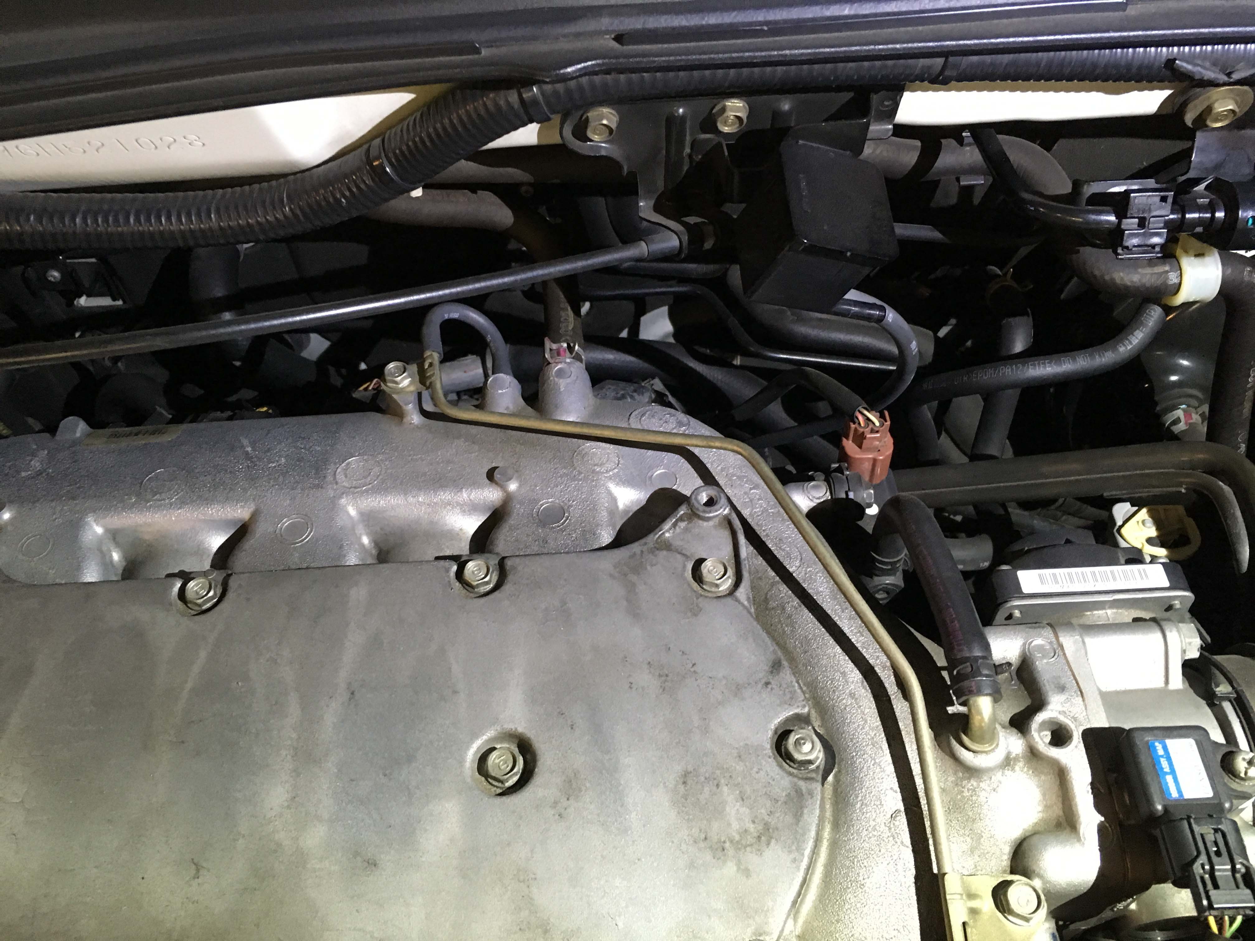 Failed Emissions Vacuum Lines Acura Mdx Forum Suv Forums 2002 Transmission Front Engine Mount Vac Hose Routing 1