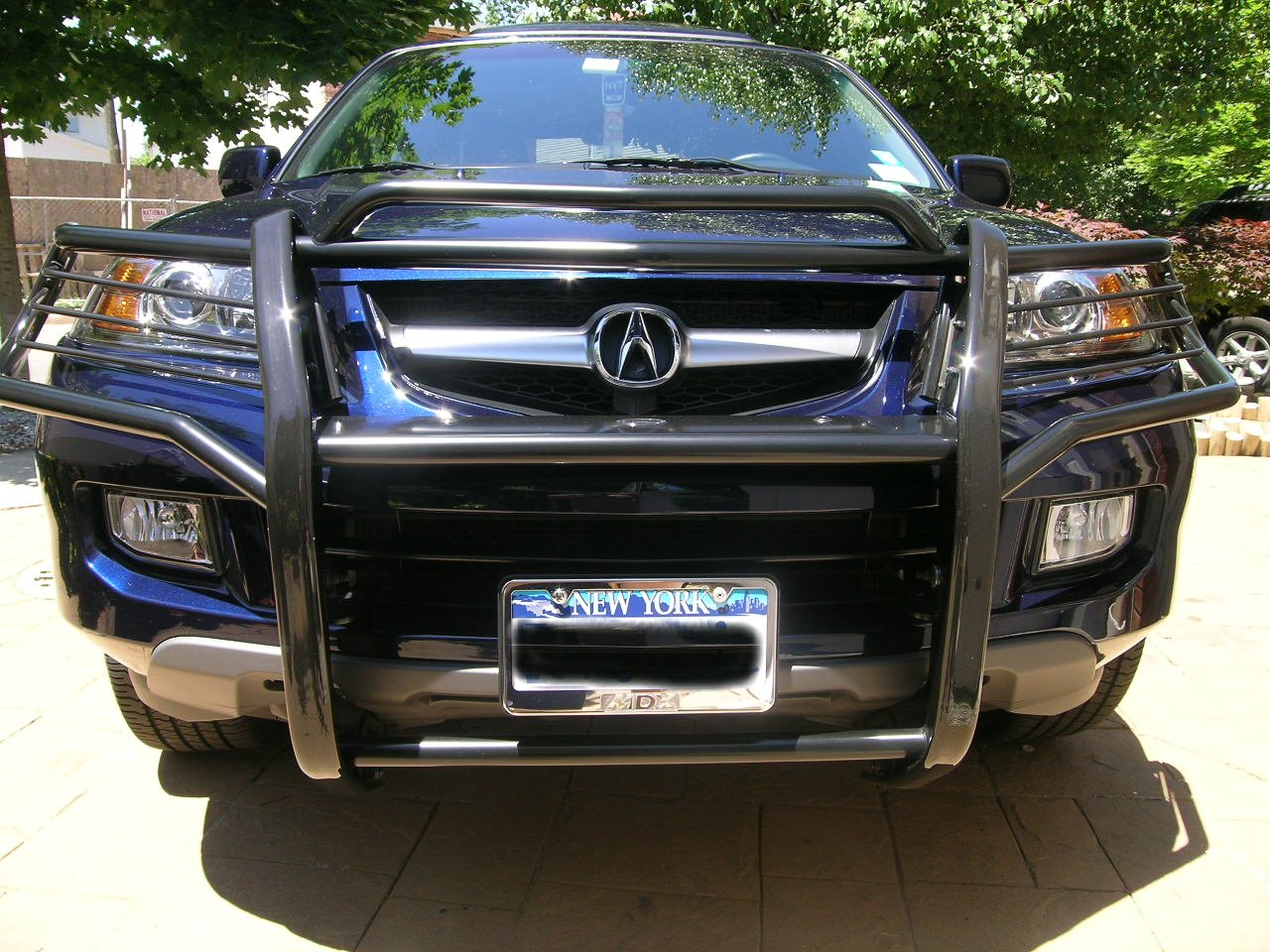 Anyone Have Pics W FRONT GRILLE Acura MDX Forum Acura MDX SUV - Acura mdx front grill