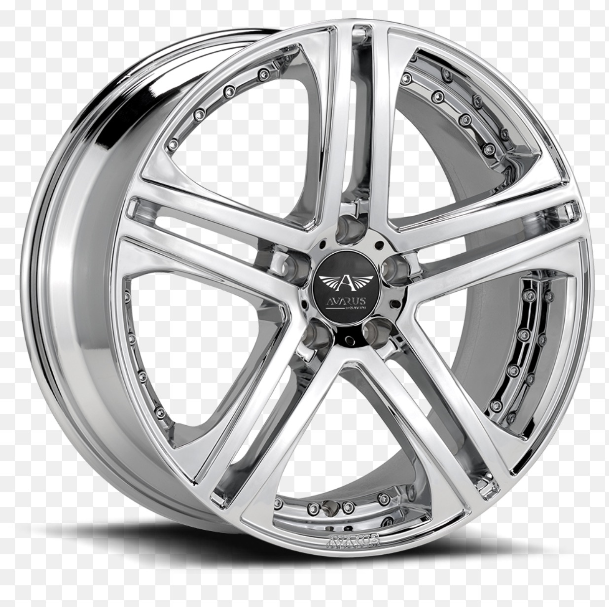 20 Inch Chrome Rims With Michelin Pilot Super Sports
