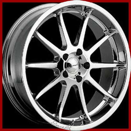"""20"""" Almost New Gianelle 10 Flush Wheels/tires/locks FOR"""