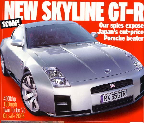 New Nissan Skyline GTR-35 -400+hp