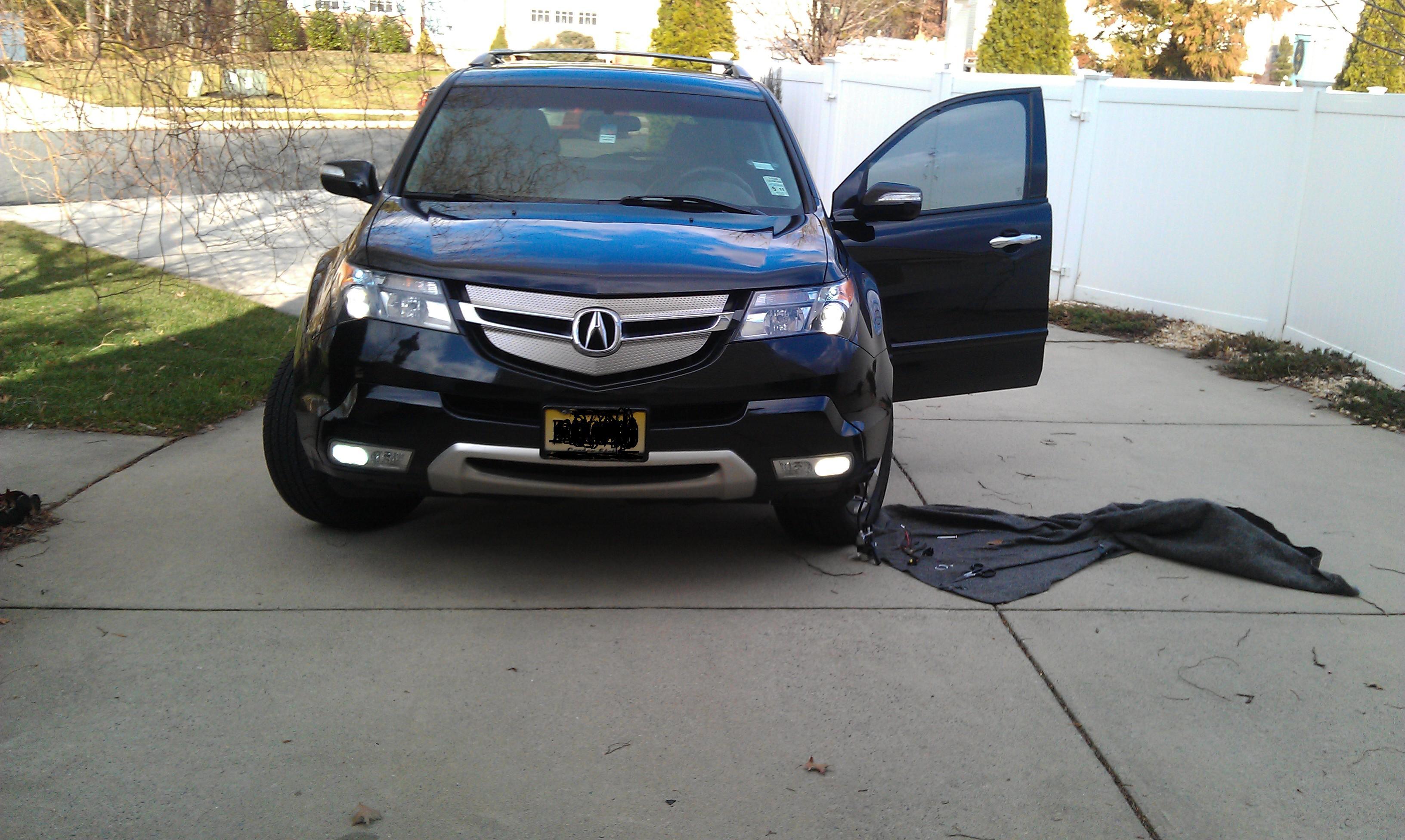 H Hid Kit K For Fog Lights Acura MDX Forum Acura MDX SUV - Acura mdx led fog lights