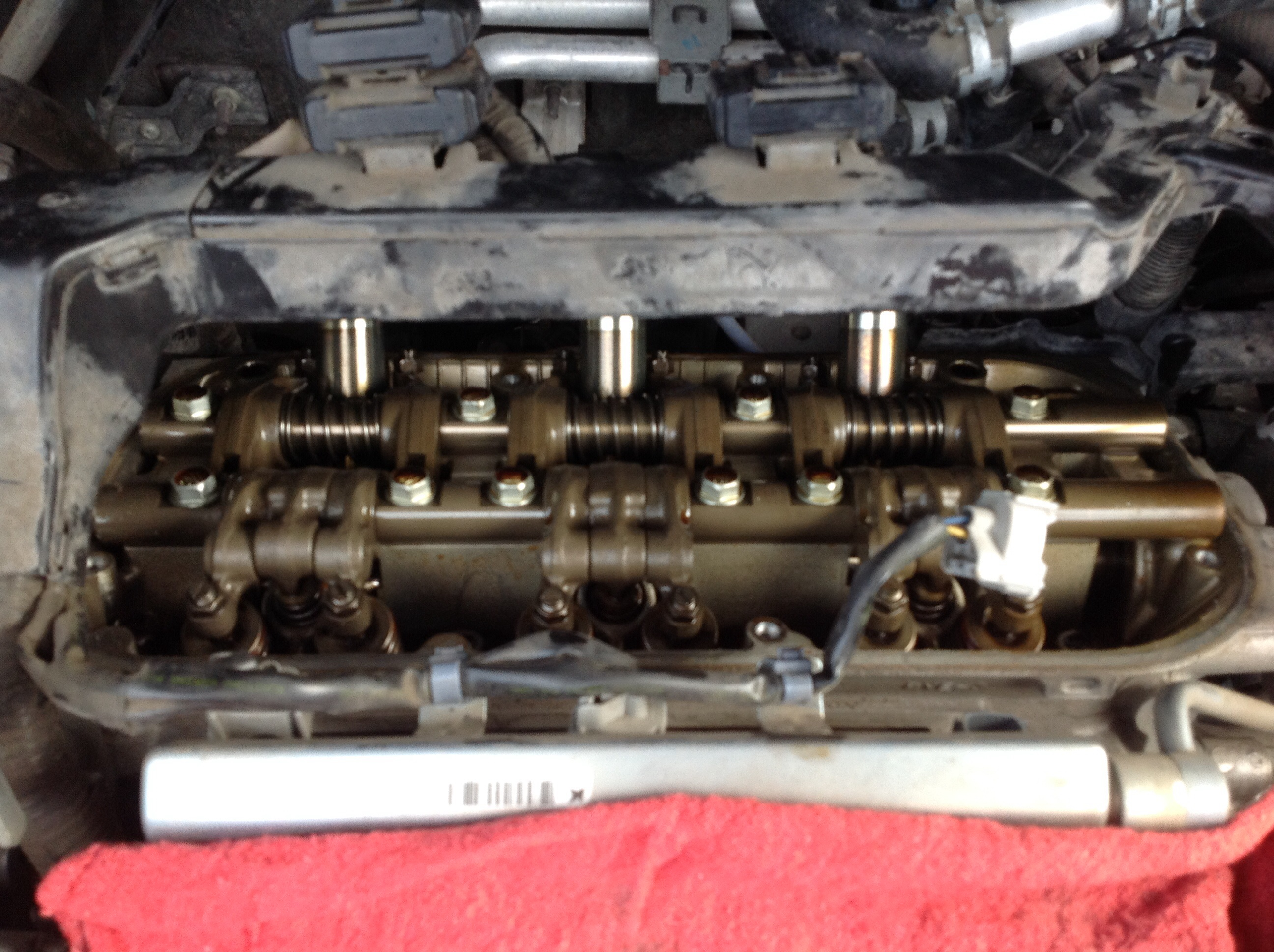 2005 nissan murano valve cover gasket replacement