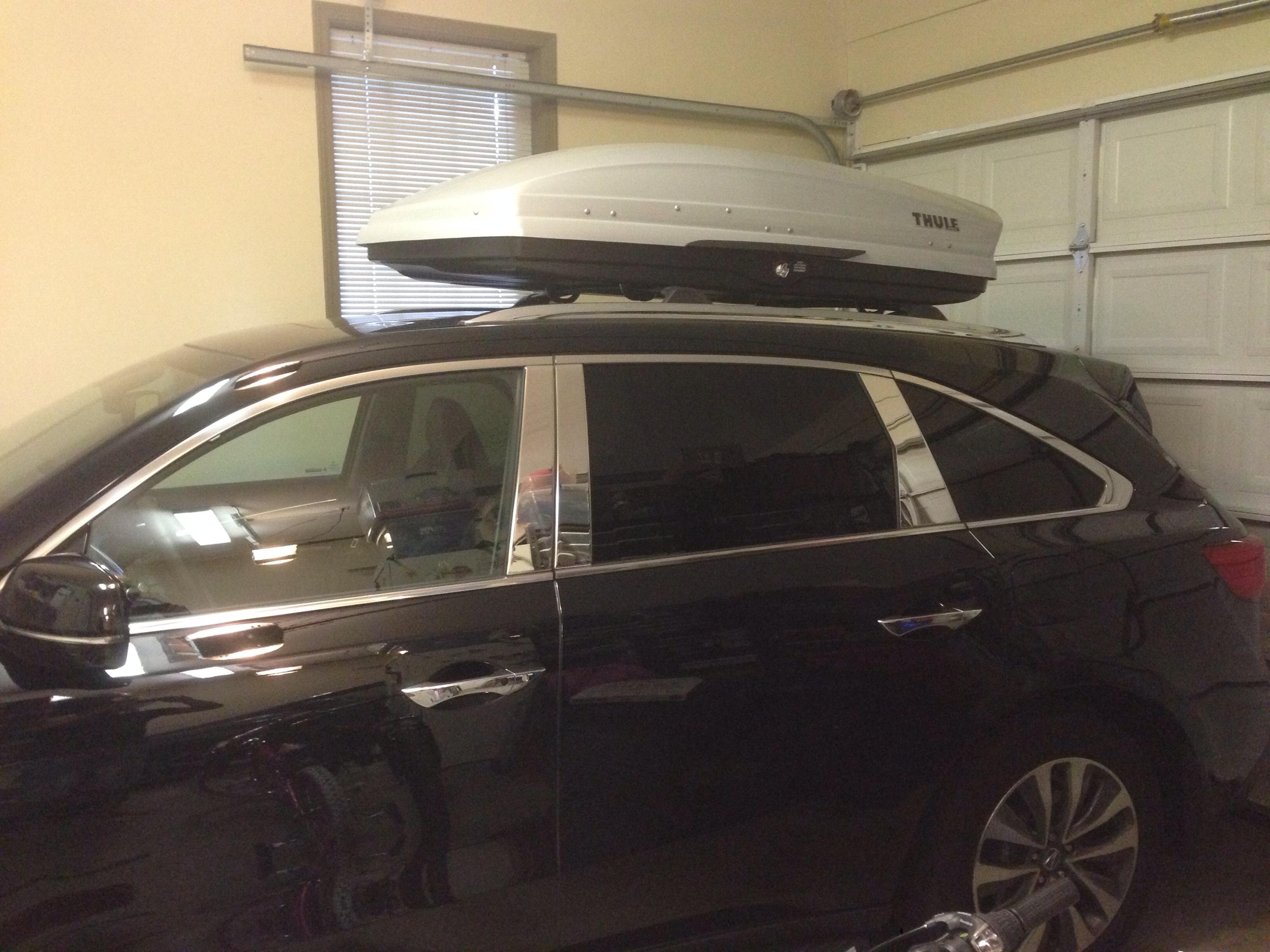 Cargo BoxThule Acura MDX Forum Acura MDX SUV Forums - Acura mdx roof cargo box