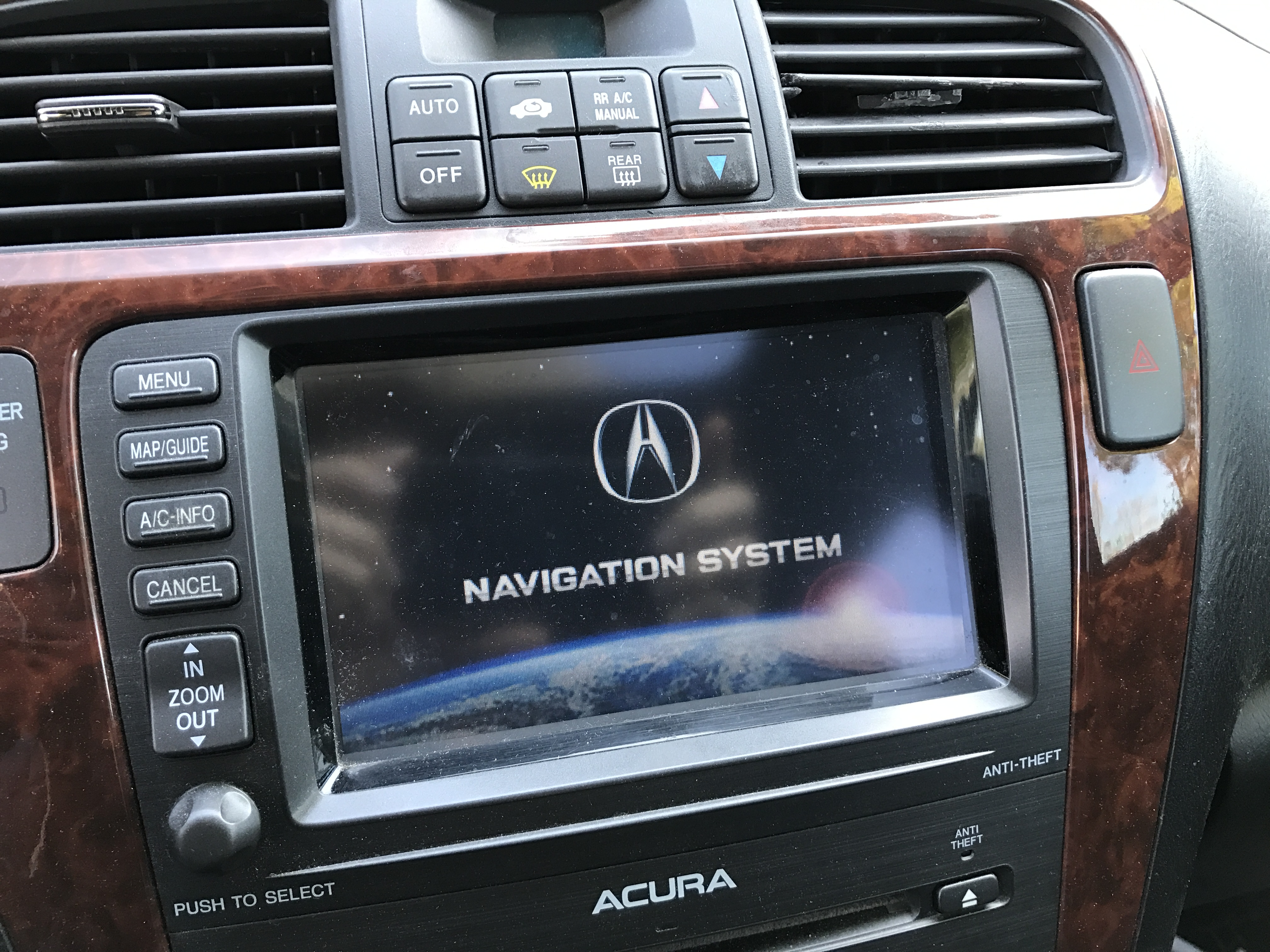 Navigation Screen Keeps Resetting Acura MDX Forum Acura MDX - 05 acura tl navigation unit