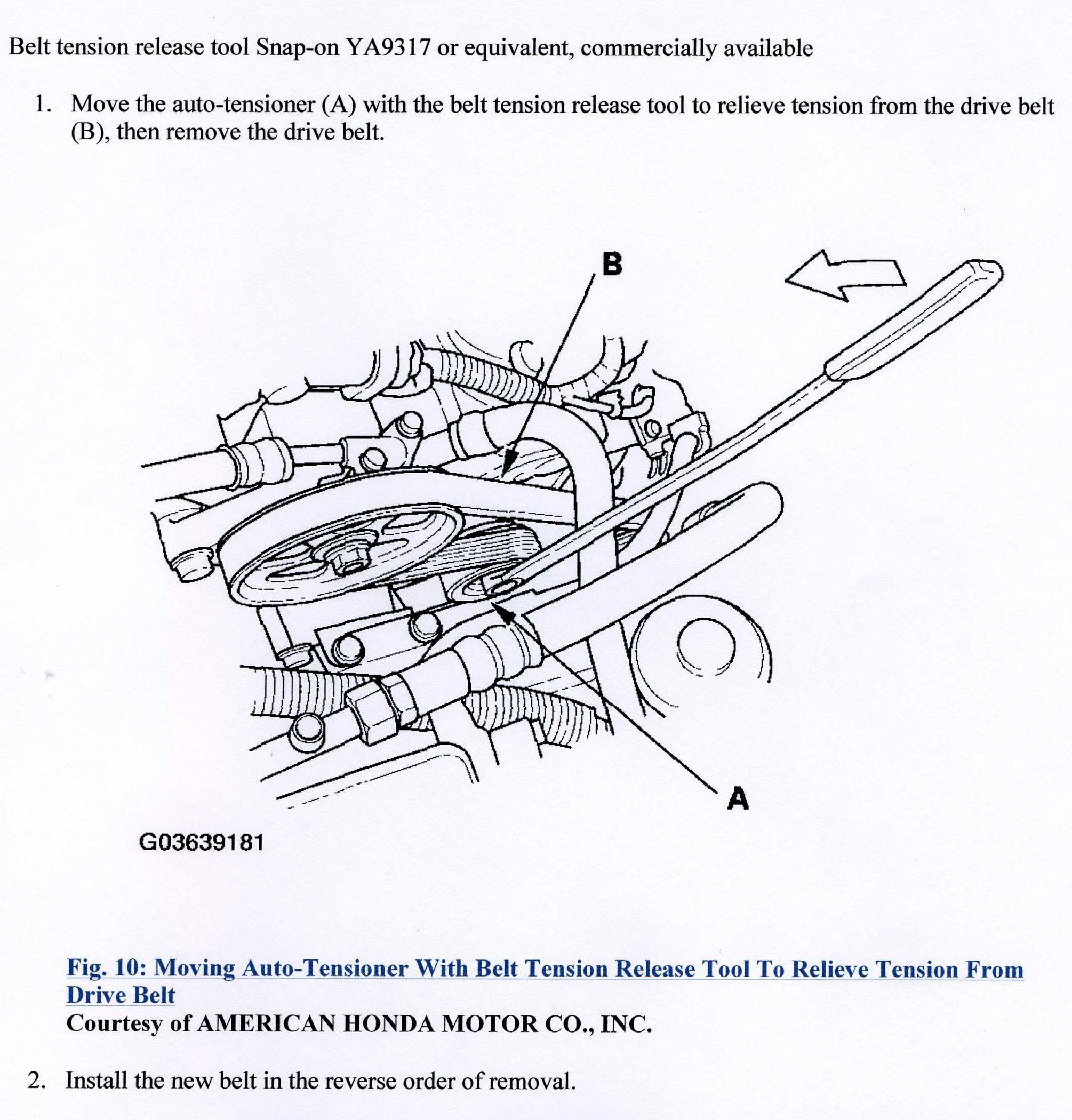 Acura Mdx Belt Diagram Reinvent Your Wiring Engine Serpentine Forum Suv Forums Rh Mdxers Org 2001 2002