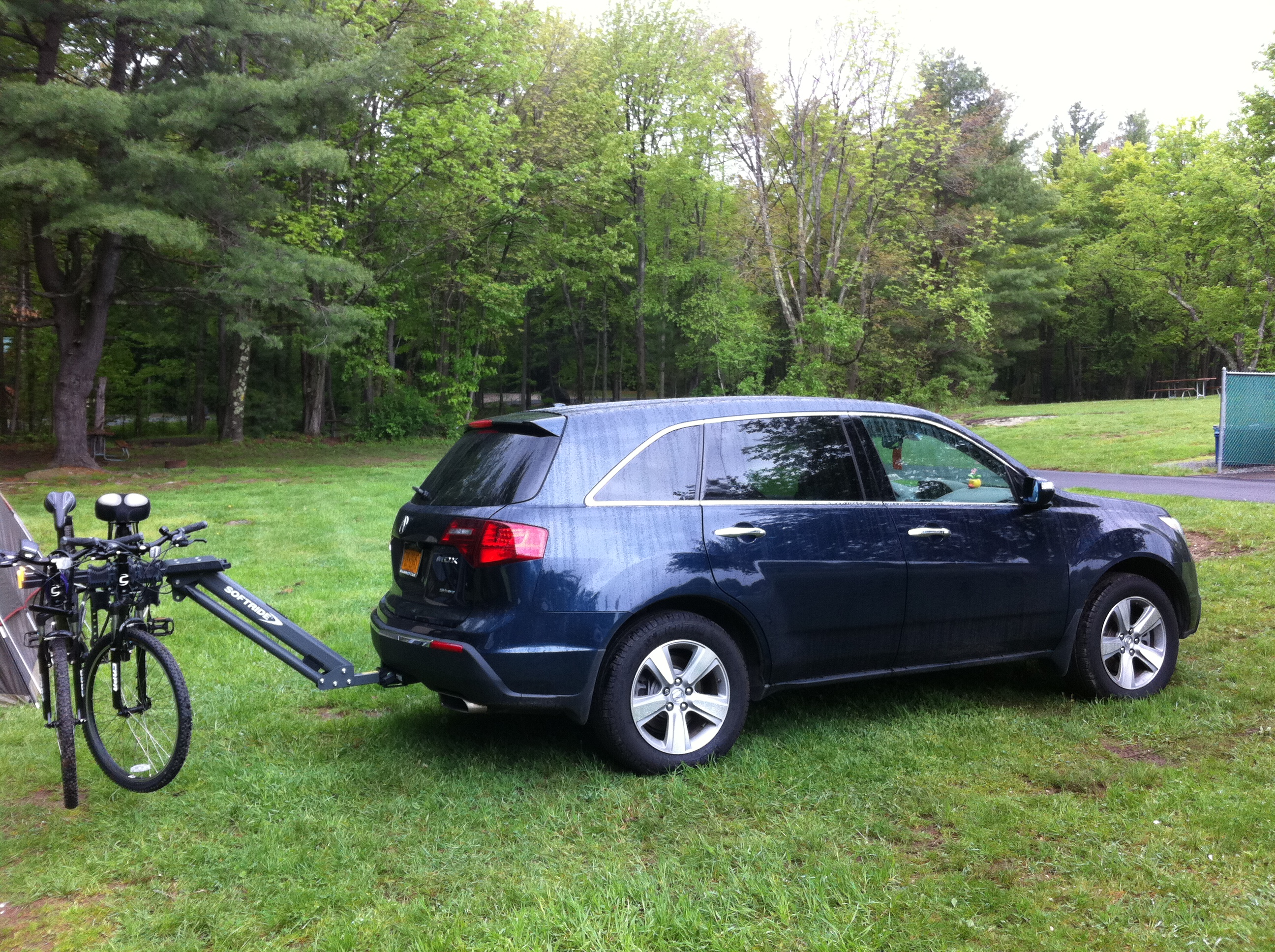 Bike Carriers Page Acura MDX Forum Acura MDX SUV Forums - Acura mdx bike rack