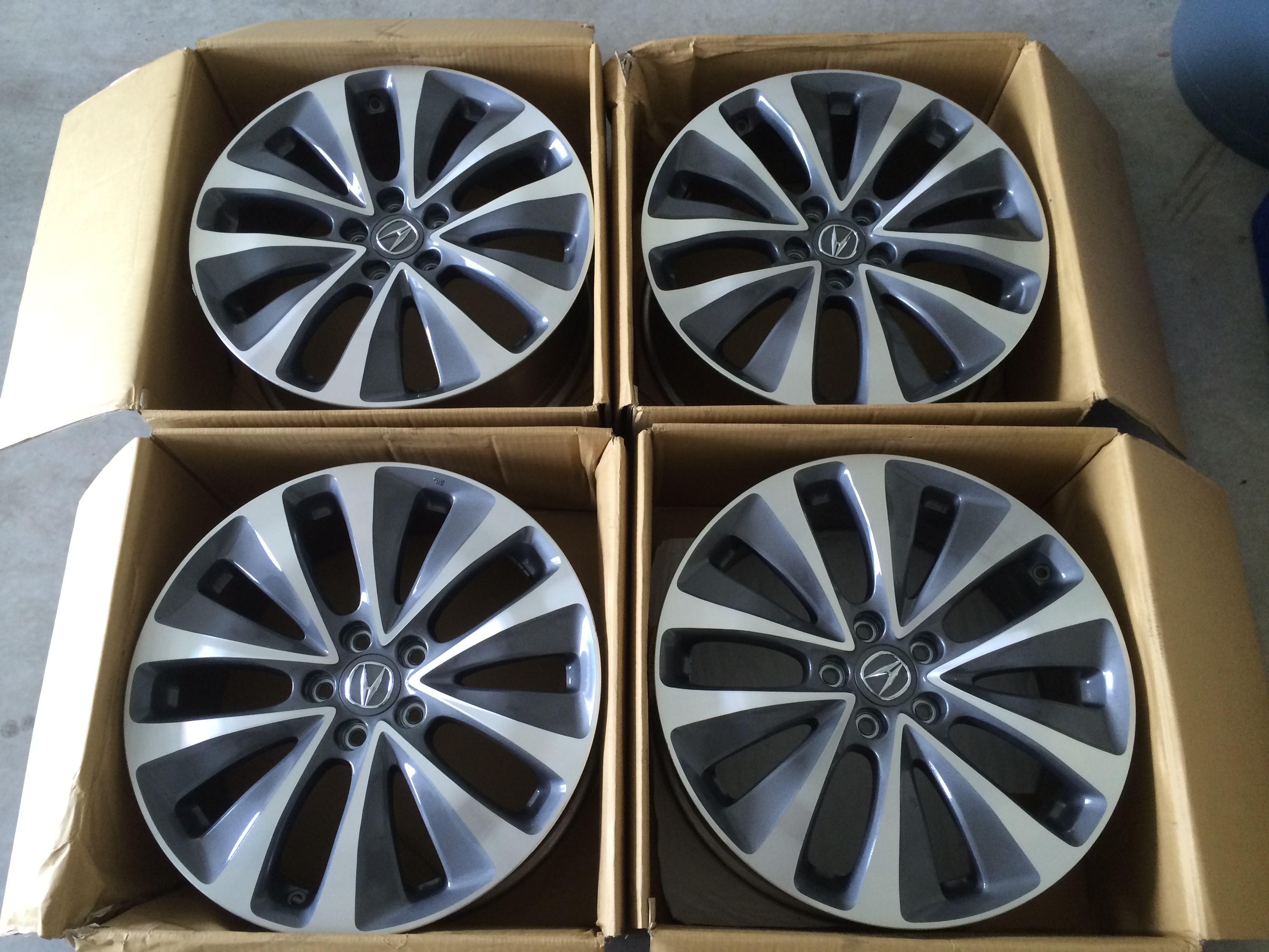 Acura MDX OEM Wheels Acura MDX Forum Acura MDX SUV Forums - Acura mdx oem wheels