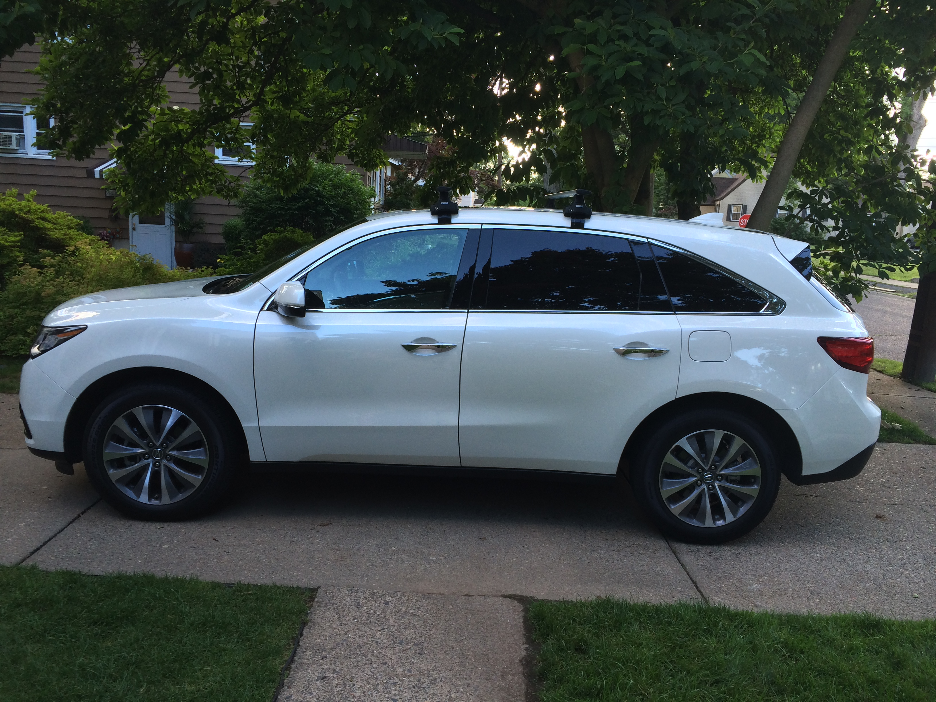 Factory Roof Rack Concerns Page Acura MDX Forum Acura MDX - Acura mdx roof cargo box