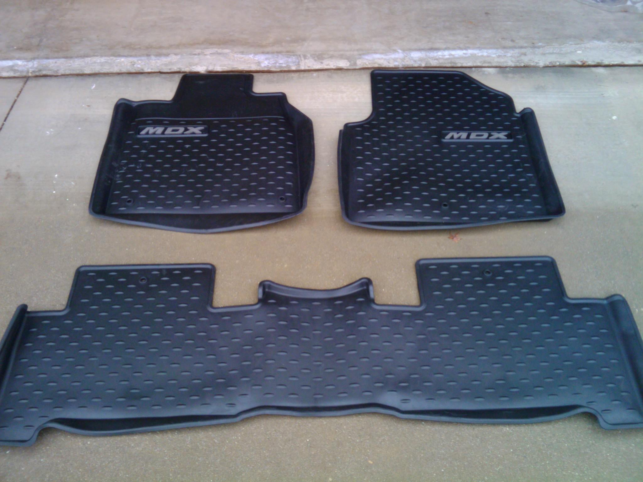 FS MDX All Season Floor Mats Cargo Mat Acura MDX Forum - Acura mdx floor mats