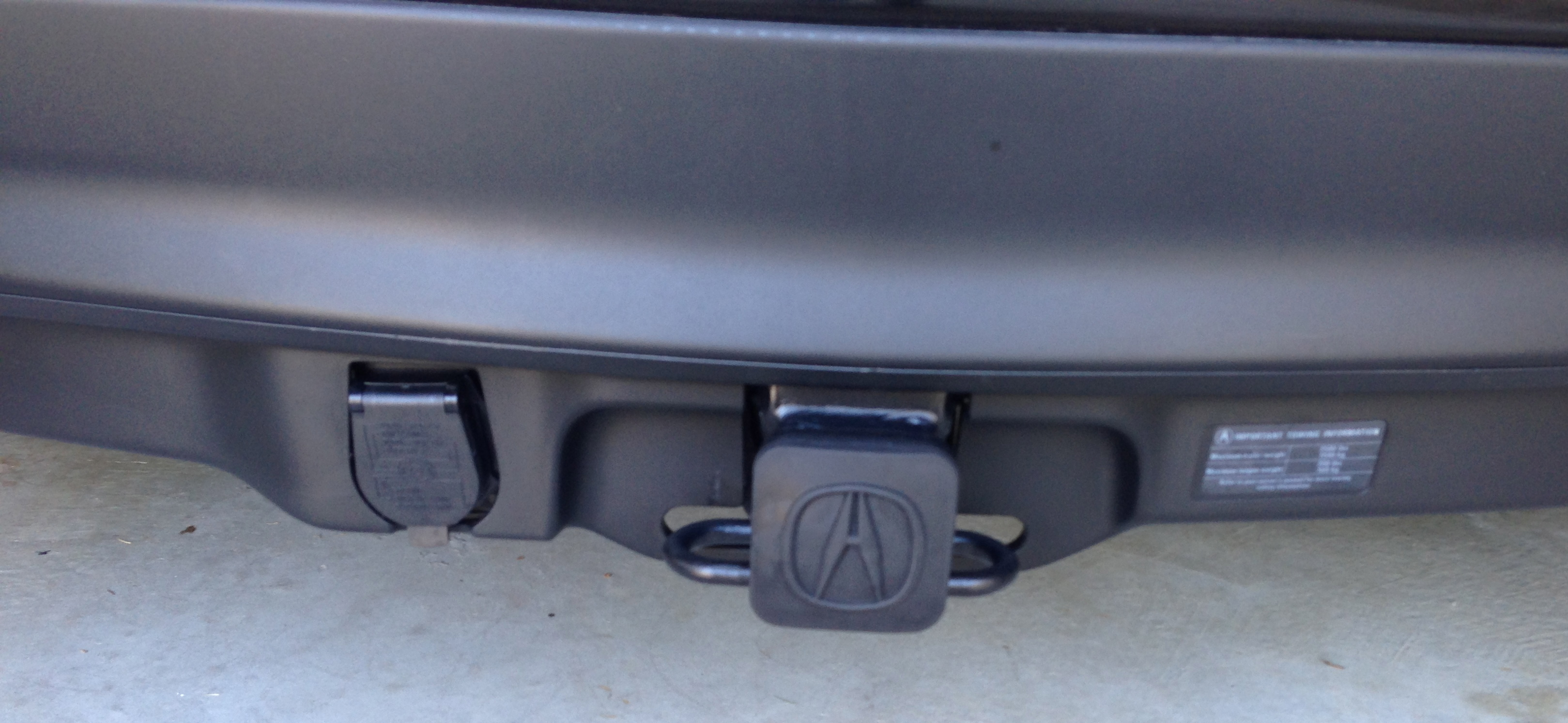 Towing Hitch Page Acura MDX Forum Acura MDX SUV Forums - Acura mdx tow hitch